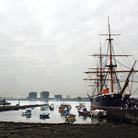 Picture - HMS Warrior in Portsmouth.