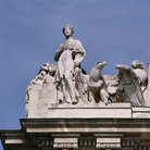 Picture - Carvings on the Hofburg Palace in Vienna.