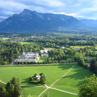 Picture - View from the Hohensalzburg Fortress.