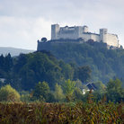Picture - View of the Hohensalzburg fortress, Salzburg.