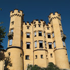 Picture - Exterior of the Hohenschwangau Castle.