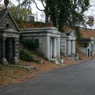 Picture - Crypts at Hollywood Cemetery in Richmond.