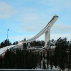 Picture - The Holmenkollen ski jump in Oslo.