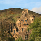 Picture - Castle at Holyrood Park, Edinburgh.