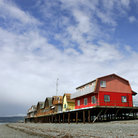 Picture - Houses on Stilts in Homer.