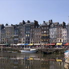 Picture - The waterfront at Honfleur.