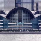 Picture - Hong Kong Convention Center from the water.