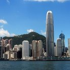 Picture - Skyline of Hong Kong.