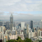 Picture - Hong Kong skyline from the Peak.