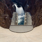 Picture - Looking over Hoover Dam.