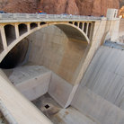 Picture - Bridge at Hoover Dam.