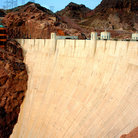 Picture - View of Hoover Dam.