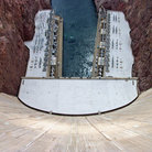 Picture - Looking down from Hoover Dam.