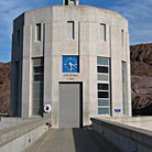 Picture - The water tower at Hoover Dam.