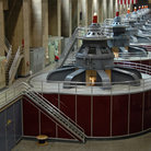 Picture - Hydroelectric turbines at Hoover Dam.