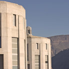 Picture - Deatil of buildings along Hoover Dam.