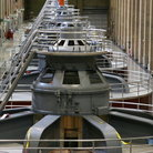 Picture - Hydroelectric generators at the Hoover Dam.