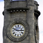 Picture - The clock tower of the Horniman Museum & Gardens in London.