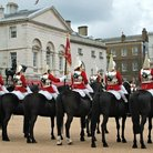 Picture - Horse Guards on duty in London.
