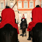 Picture - Horse guards in London.