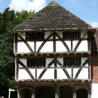 Picture - Half timbered building in Horsham.