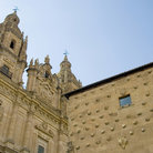 Picture - Casa de las Conchas and the Salamanca University.
