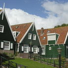 Picture - Dutch houses in Marken.