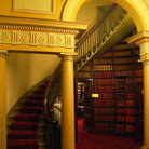 Picture - The library at the Parliament building in Melbourne.