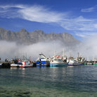 Picture - Mist over Hout Bay.