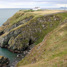 Picture - Cliffs in Howth near Dublin.