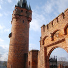 Picture - A tower and gate of the Hradec nad Moravici.