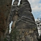 Picture - Sandstone formations of Rock City.