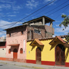 Picture - Typical architecture in Huaraz.