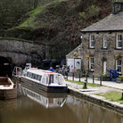Picture - The Standegde Canal Tunnel at Huddersfield.