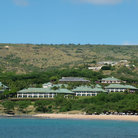 Picture - An ocean front resort at Hulopoe Bay on the Island of Lanai.