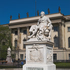 Picture - Statue of Alexander von Humboldt in front of the Humboldt University, Berlin.