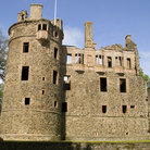Picture - The medieval castle of Huntly.