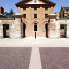 Picture - The Hyde Park Barracks in Sydney.