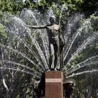 Picture - Archibald Fountain in Hyde Park, Sydney.