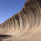 Picture - Wave rock at Hyden.