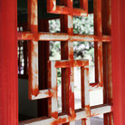 Picture - Pagoda window in Iao Valley State Park in Maui, Hawaii.