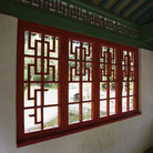Picture - Interior of pagoda in Iao Valley State Park.
