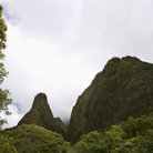Picture - Iao Needle landscape in Iao Valley State Park, Wailuku.
