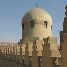 Picture - Architectural detail of the Ibn Tulun Mosque in Cairo.