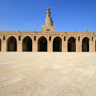 Picture - The Minaret of ibn Tulun Mosque in Cairo.