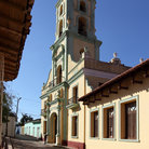 Picture - The tower of the Iglesia y Convento de San Francisco in Trinidad.