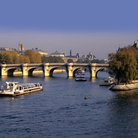 Picture - Pont Neuf and Ile de la Cite in Paris.