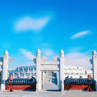 Picture - Roofline of Forbidden City, Beijing.