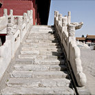 Picture - Stair case of the Forbidden City in Beijing.