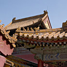 Picture - Detail from the Forbidden City in Beijing.